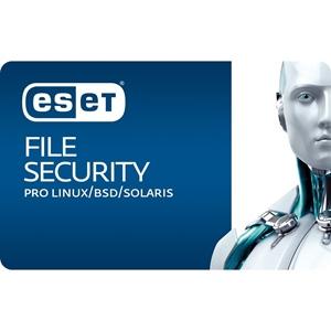 Obrázek ESET File Security for Linux/BSD; licence pro nového uživatele; počet licencí 1; platnost 3 roky