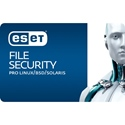 Obrázek ESET File Security for Linux/BSD; licence pro nového uživatele; počet licencí 3; platnost 1 rok